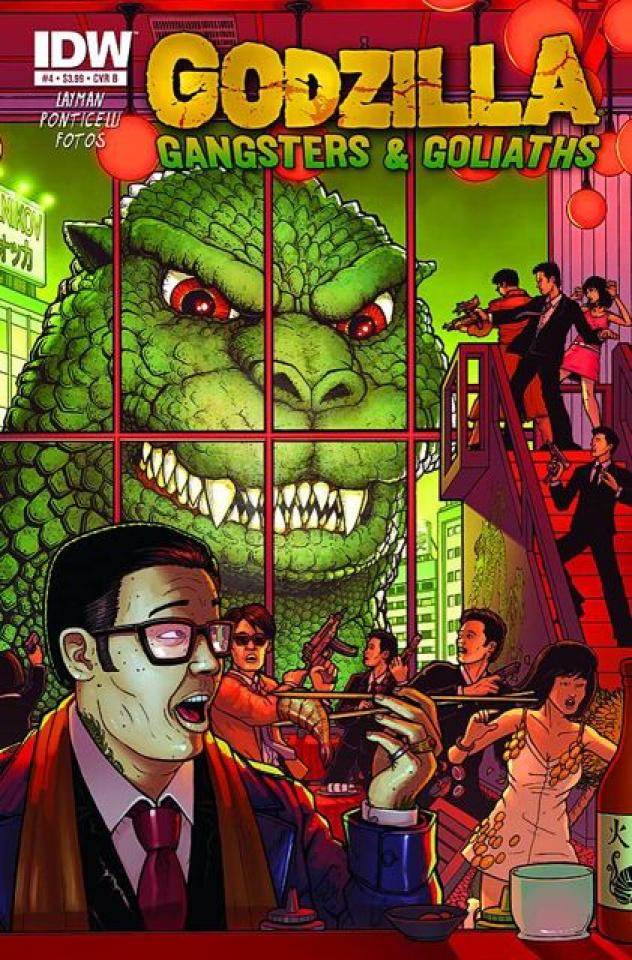 Godzilla: Gangsters & Goliaths #4