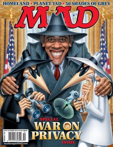 MAD Magazine #523