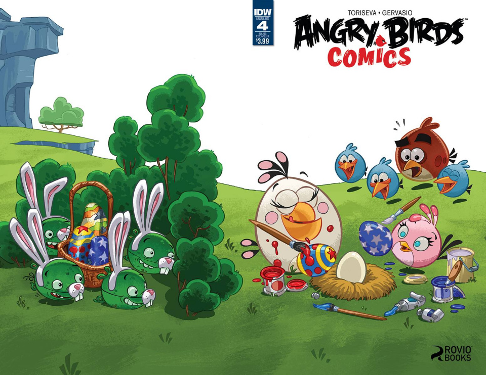 Angry Birds Comics #4 (Subscription Cover)