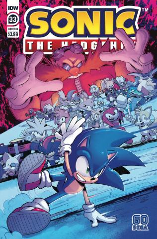 Sonic the Hedgehog #33 (Dutriex Cover)
