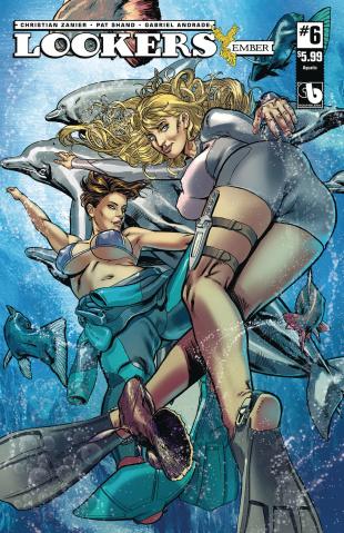Lookers: Ember #6 (Aquatic Cover)