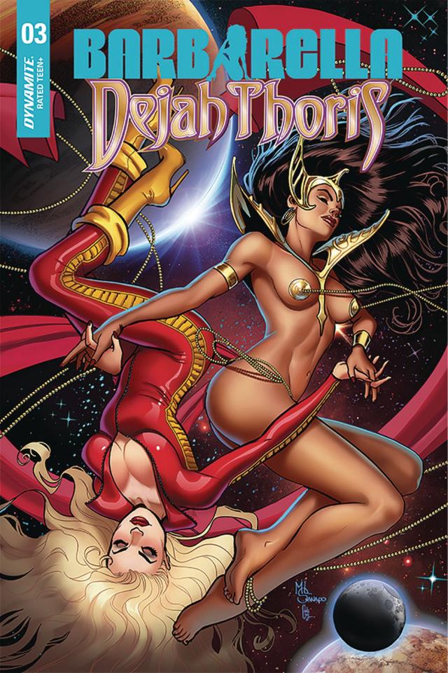 Barbarella / Dejah Thoris #3 (10 Copy Sanapo Seduction Cover)