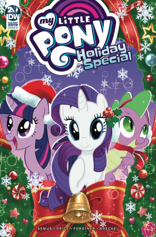 My Little Pony Holiday Special (10 Copy Pinto Cover)