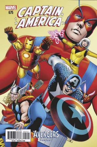 Captain America #697 (Cassaday Avengers Cover)