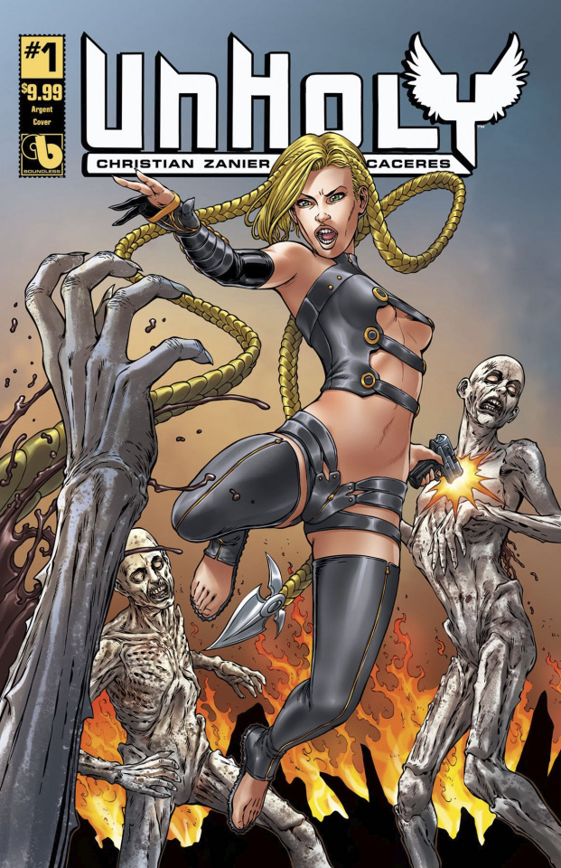 UnHoly #1 (Argent Cover)