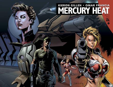 Mercury Heat #2 (Wrap Cover)