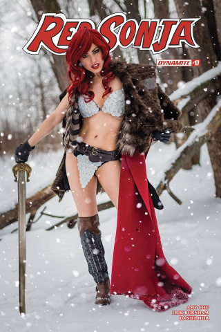 Red Sonja #22 (Cosplay Cover)