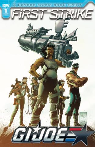 G.I. Joe: First Strike #1 (10 Copy Cover)