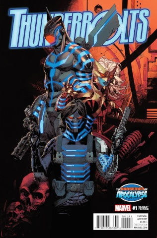 Thunderbolts #1 (Stevens AoA Cover)