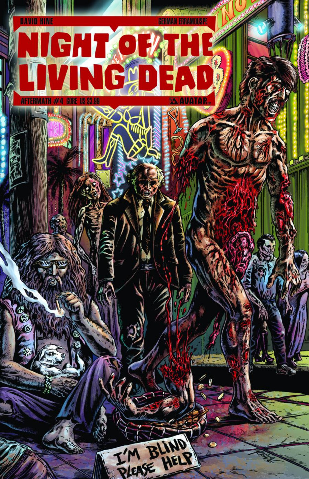 Night of the Living Dead: Aftermath #4 (Gore Cover)