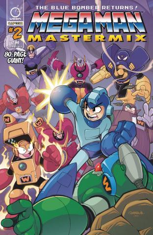 Mega Man: Mastermix #2 (Sommariva Cover)