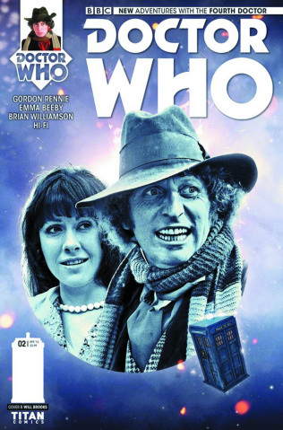 Doctor Who: New Adventures with the Fourth Doctor #2 (Photo Cover)