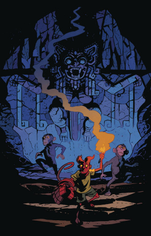 Young Hellboy: The Hidden Land #3 (Smith Cover)