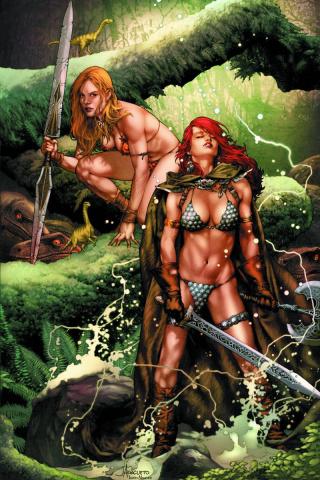 Swords of Sorrow: Red Sonja & Jungle Girl #1 (Virgin Cover)