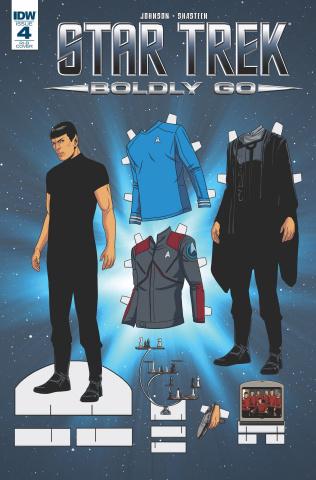 Star Trek: Boldly Go #4 (25 Copy Cover)