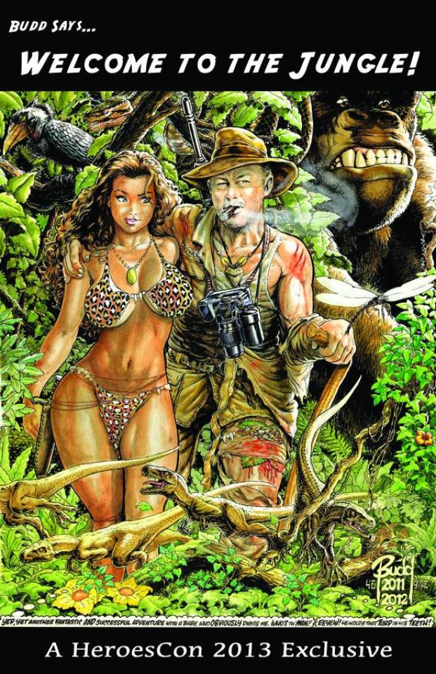 Cavewoman: A Heroescon 2013 Sketchbook