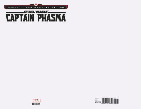 Journey to Star Wars: The Last Jedi - Captain Phasma #1 (Blank Cover)