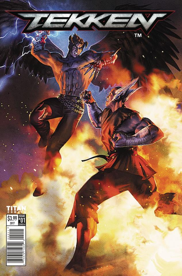 Tekken #1 (Ronald Cover)