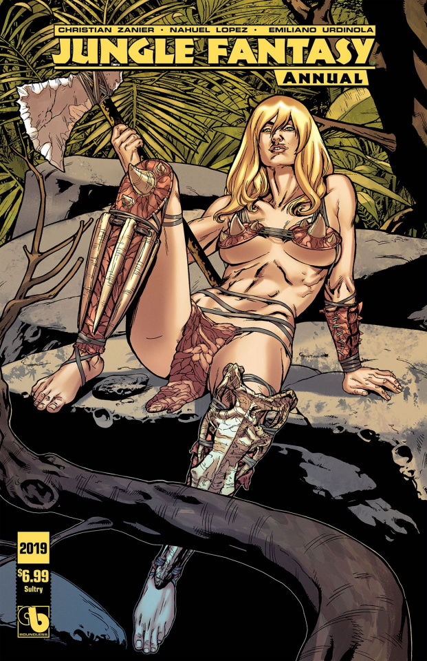 Jungle Fantasy Annual 2019 (Sultry Cover)