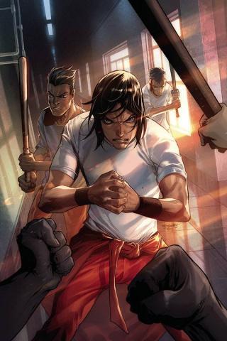 Gung-Ho: Anger #1 (30 Copy Stephen Segovia Virgin Cover)