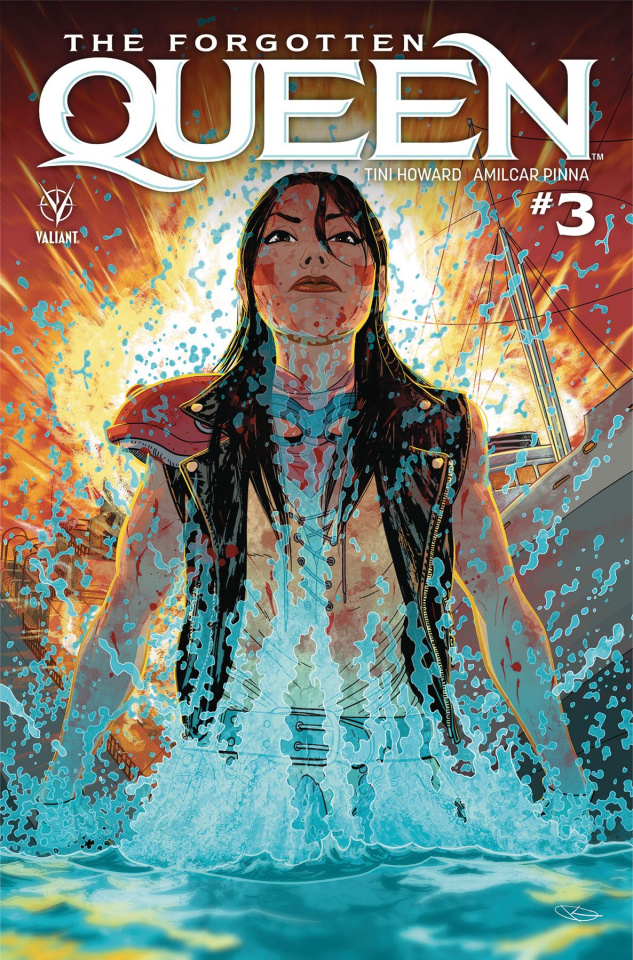The Forgotten Queen #3 (Kano Cover)