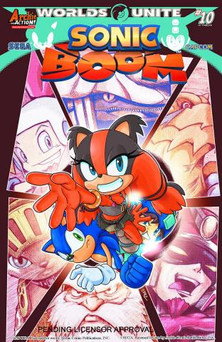 Sonic Boom #10 (Spaz Cover)