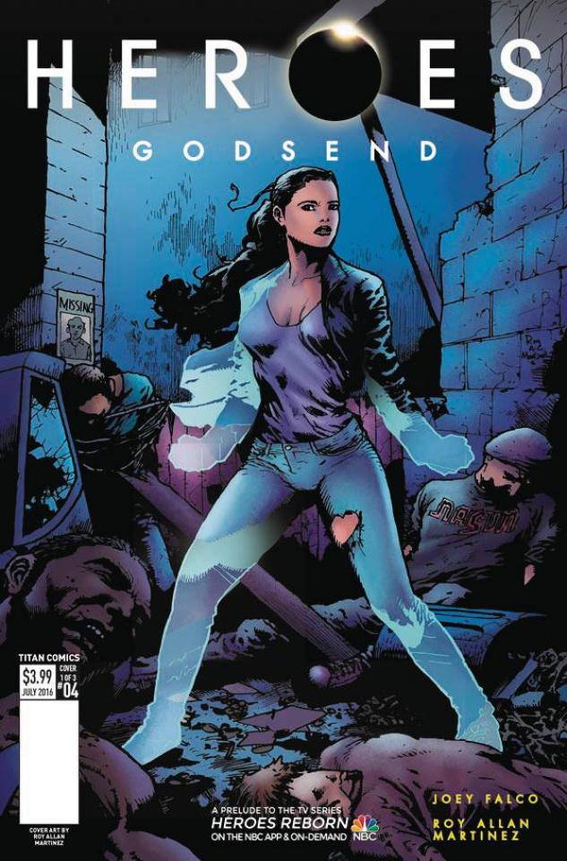 Heroes: Godsend #4 (Martinez Cover)