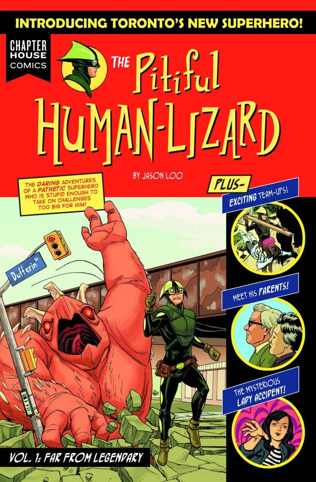The Pitiful Human Lizard Vol. 1