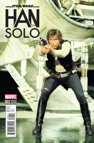 Star Wars: Han Solo #2 (Movie Cover)