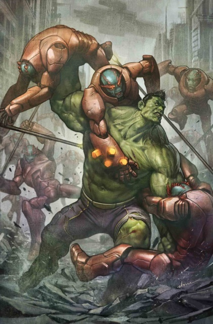 Totally Awesome Hulk #18