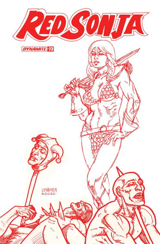 Red Sonja #23 (25 Copy Linsner Tint Cover)