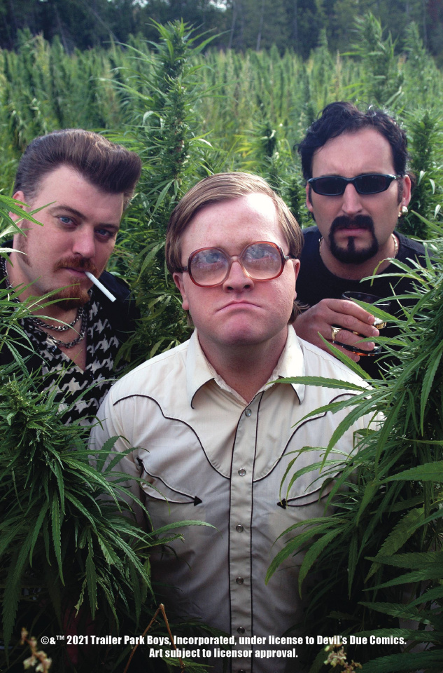 The Trailer Park Boys Get a F#Ing Comic Book #1 (Photo Cover)