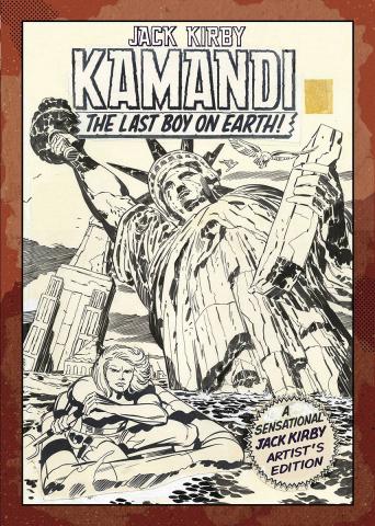 Jack Kirby: Kamandi Artist's Edition Vol. 1