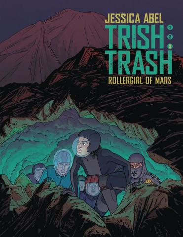 Trish Trash: Roller Girl of Mars Vol. 3