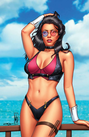 Grimm Fairy Tales Presents Swimsuit Edition 2021 (Dipascale Cover)