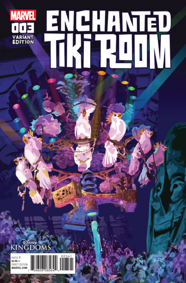 Enchanted Tiki Room #3 (Morris Cover)