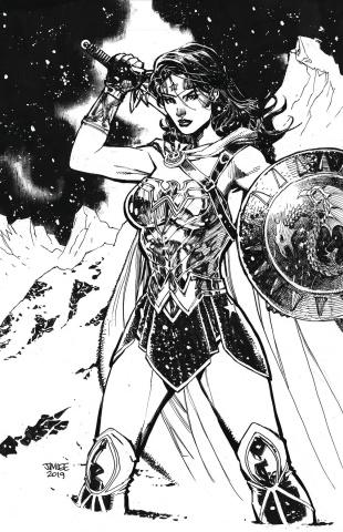 Wonder Woman #759 (Card Stock Jim Lee Cover)