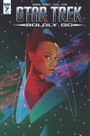 Star Trek: Boldly Go #7 (25 Copy Cover)