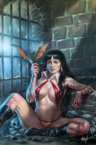 Vampirella #11 (Parrillo Virgin Cover)