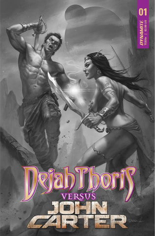 Dejah Thoris vs. John Carter of Mars #1 (50 Copy Cover)