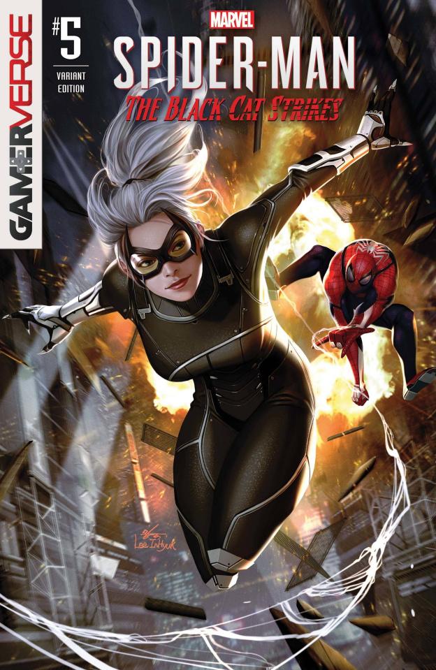 Spider-Man: The Black Cat Strikes #5 (Inhyuk Lee Cover)