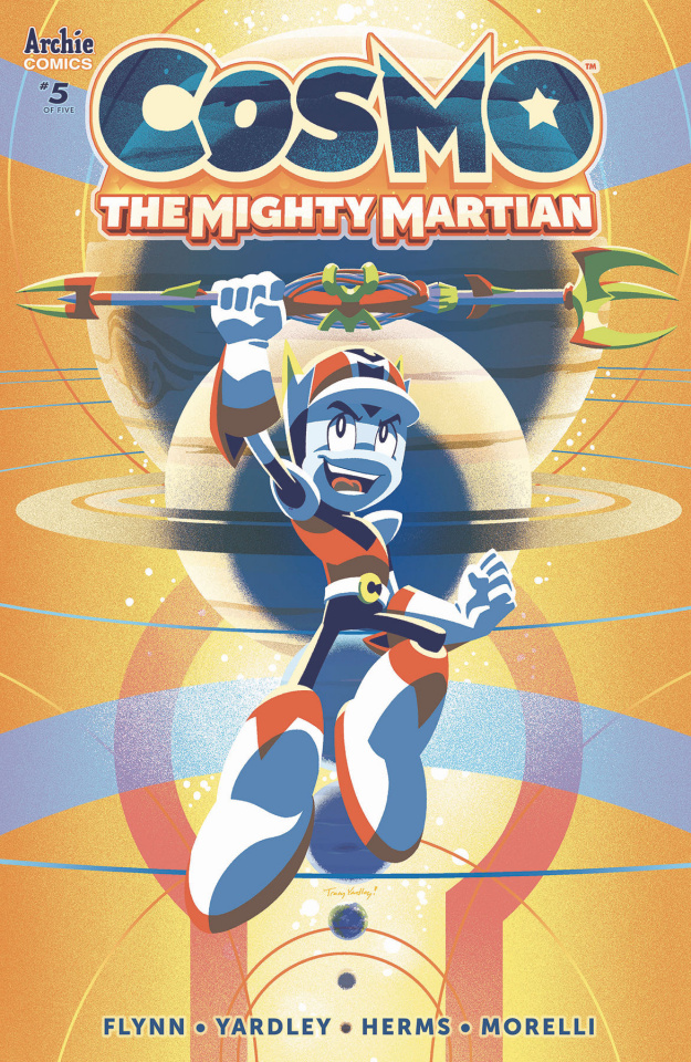Cosmo: The Mighty Martian #5 (Yardley Cover)