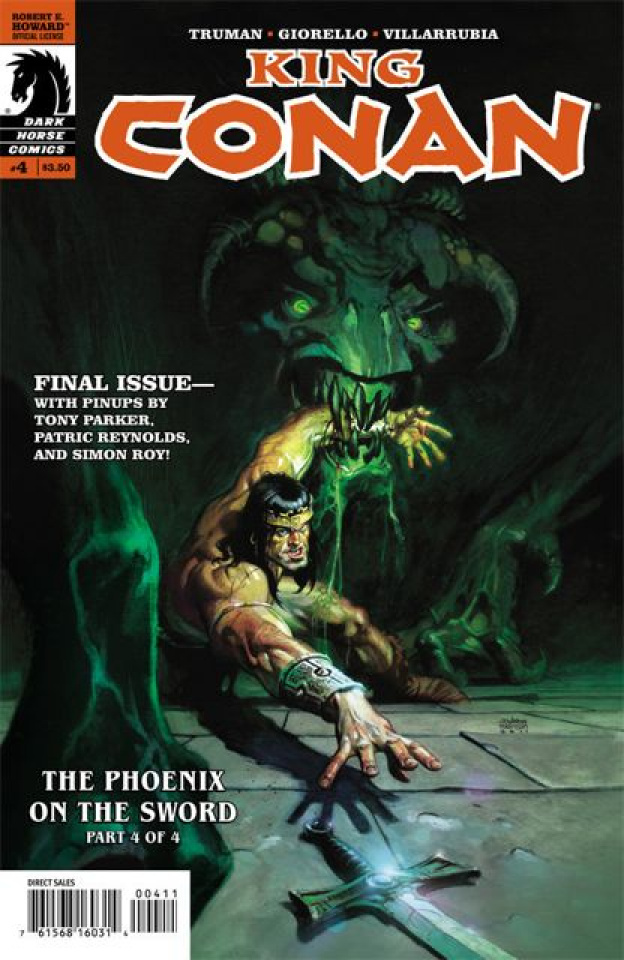 King Conan: Phoenix on the Sword #4