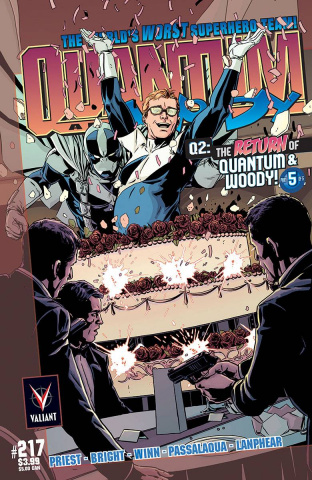 Q2: The Return of Quantum & Woody #5 (25 Copy Laming Cover)