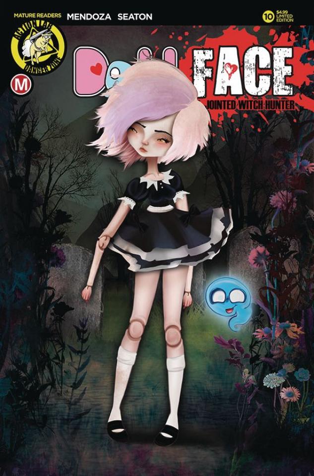 Dollface #10 (Von Braun Pin Up Cover)