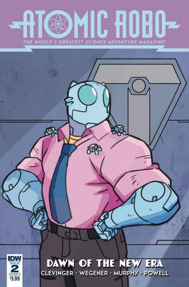 Atomic Robo: Dawn of the New Era #2 (Wegener Cover)
