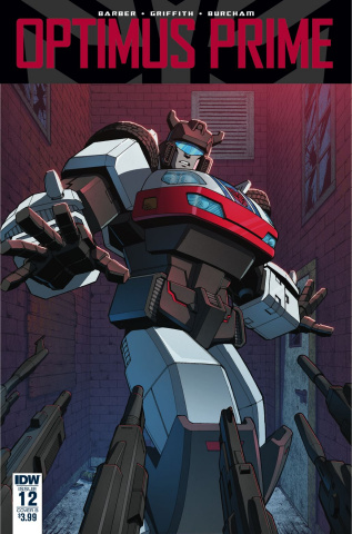 Optimus Prime #12 (Coller Cover)