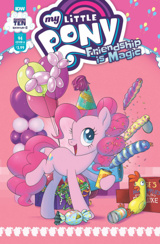 My Little Pony: Friendship Is Magic #94 (Kuusisto Cover)