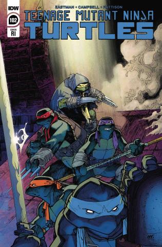 Teenage Mutant Ninja Turtles #102 (10 Copy Roberts Cover)