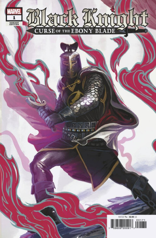 Black Knight: Curse of the Ebony Blade #1 (Legend of the Black Knight Cover)